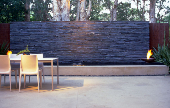 Mintaro slate quarries for Outdoor feature wall ideas